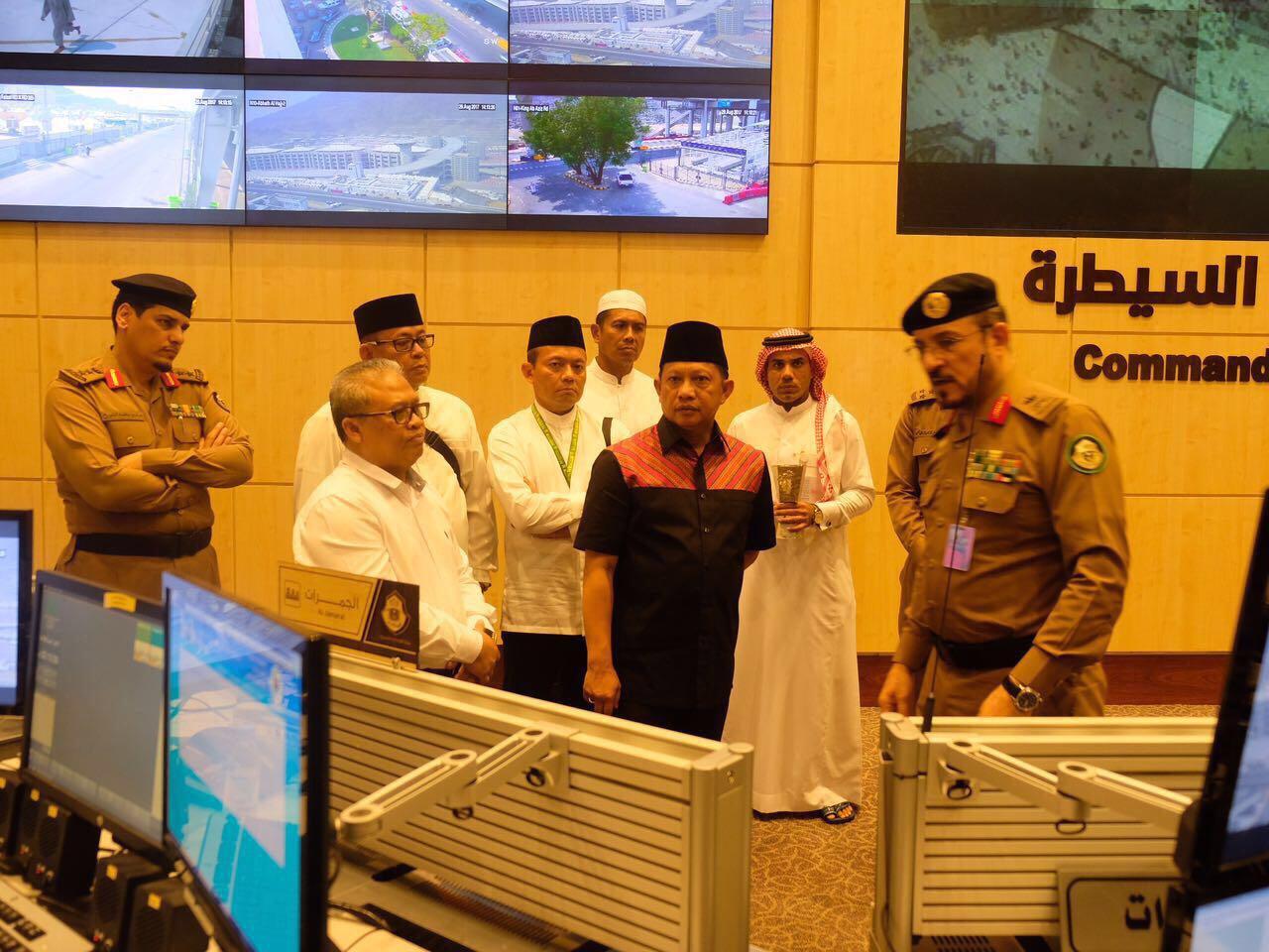 Kapolri dan Pejabat Polisi Arab Saudi