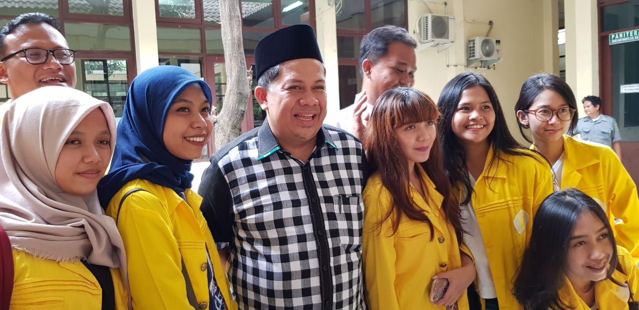 Wakil Ketua DPR Fahri Hamzah & ILUNI